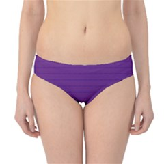 Pattern Violet Purple Background Hipster Bikini Bottoms