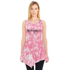 Plant Flowers Bird Spring Sleeveless Tunic by Nexatart