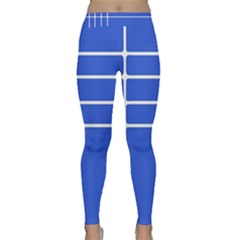 Stripes Pattern Template Texture Classic Yoga Leggings