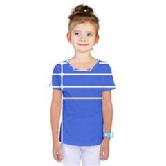 Stripes Pattern Template Texture Kids  One Piece Tee