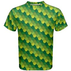 Dragon Scale Scales Pattern Men s Cotton Tee