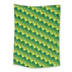 Dragon Scale Scales Pattern Medium Tapestry by Nexatart