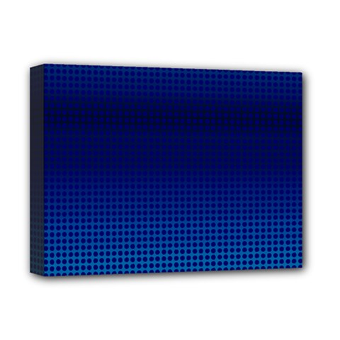 Blue Dot Deluxe Canvas 16  X 12   by PhotoNOLA