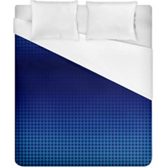 Blue Dot Duvet Cover (california King Size) by PhotoNOLA