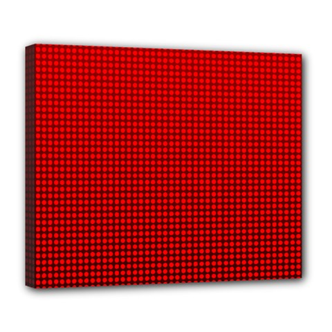 Redc Deluxe Canvas 24  X 20   by PhotoNOLA