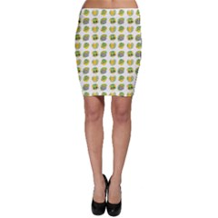 St Patrick S Day Background Symbols Bodycon Skirt by Nexatart