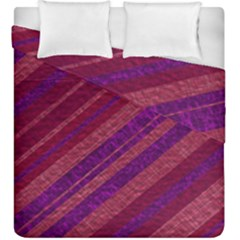 Stripes Course Texture Background Duvet Cover Double Side (king Size) by Nexatart