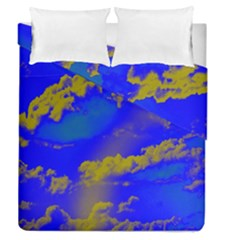 Sky Pattern Duvet Cover Double Side (queen Size)