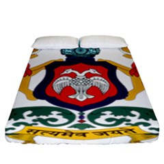State Seal Of Karnataka Fitted Sheet (king Size) by abbeyz71