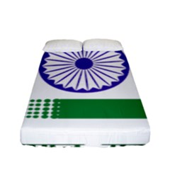 Seal Of Indian State Of Jharkhand Fitted Sheet (full/ Double Size) by abbeyz71