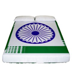 Seal Of Indian State Of Jharkhand Fitted Sheet (king Size) by abbeyz71