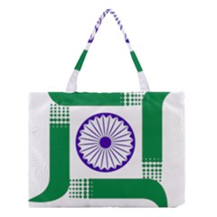 Seal Of Indian State Of Jharkhand Medium Tote Bag by abbeyz71