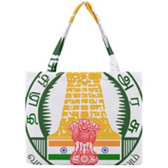 Seal Of Indian State Of Tamil Nadu  Mini Tote Bag by abbeyz71