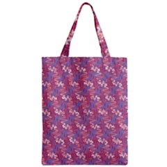 Pattern Abstract Squiggles Gliftex Zipper Classic Tote Bag by Nexatart