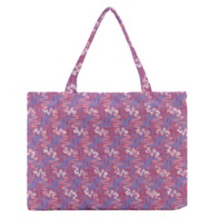Pattern Abstract Squiggles Gliftex Medium Zipper Tote Bag by Nexatart