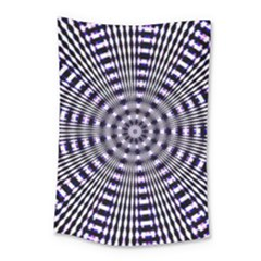 Pattern Stripes Background Small Tapestry by Nexatart
