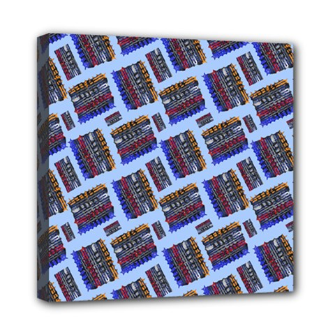 Abstract Pattern Seamless Artwork Mini Canvas 8  X 8  by Nexatart