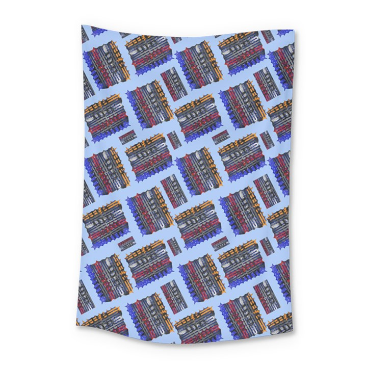 Abstract Pattern Seamless Artwork Small Tapestry