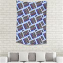 Abstract Pattern Seamless Artwork Small Tapestry View2