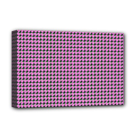 Pattern Grid Background Deluxe Canvas 18  X 12   by Nexatart