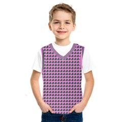 Pattern Grid Background Kids  Sportswear