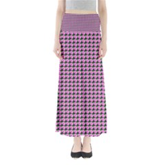 Pattern Grid Background Maxi Skirts by Nexatart