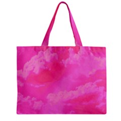 Sky Pattern Zipper Mini Tote Bag by Valentinaart