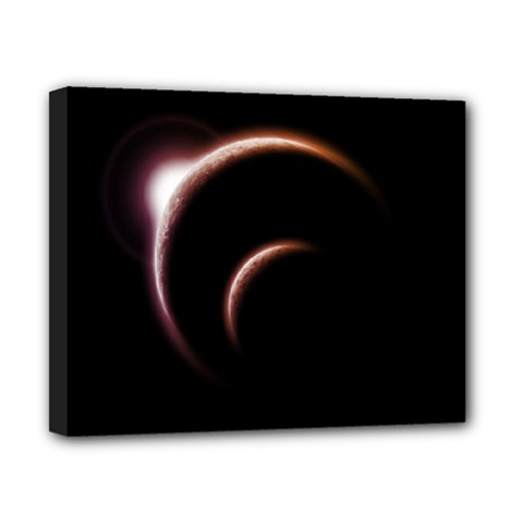 Planet Space Abstract Canvas 10  X 8  by Nexatart