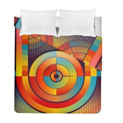 Abstract Pattern Background Duvet Cover Double Side (full/ Double Size)