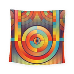Abstract Pattern Background Square Tapestry (small) by Nexatart