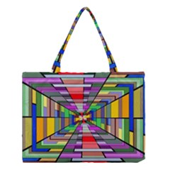 Art Vanishing Point Vortex 3d Medium Tote Bag