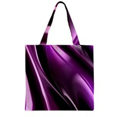 Fractal Mathematics Abstract Grocery Tote Bag by Nexatart