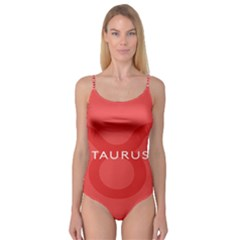 Zodizc Taurus Red Camisole Leotard  by Mariart