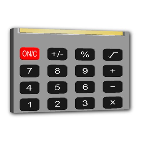 Calculator Canvas 18  X 12  by Mariart