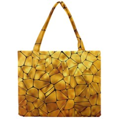 Gold Mini Tote Bag by Mariart