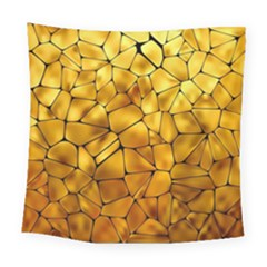 Gold Square Tapestry (large) by Mariart