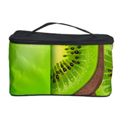 Fruit Slice Kiwi Green Cosmetic Storage Case by Mariart