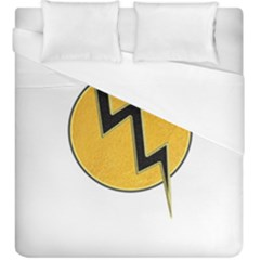Lightning Bolt Duvet Cover (king Size) by linceazul