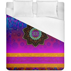 Air And Stars Global With Some Guitars Pop Art Duvet Cover (california King Size) by pepitasart