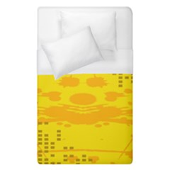Texture Yellow Abstract Background Duvet Cover (single Size)