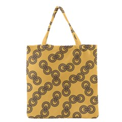 Abstract Shapes Links Design Grocery Tote Bag by Nexatart