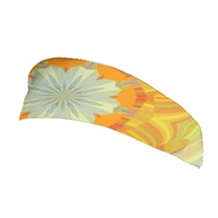 Sunshine Sunny Sun Abstract Yellow Stretchable Headband by Nexatart