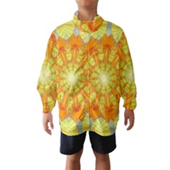 Sunshine Sunny Sun Abstract Yellow Wind Breaker (kids)