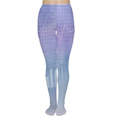 Business Background Blue Corporate Women s Tights by Nexatart