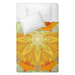 Sunshine Sunny Sun Abstract Yellow Duvet Cover Double Side (single Size)