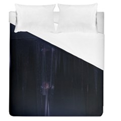 Abstract Dark Stylish Background Duvet Cover (queen Size) by Nexatart