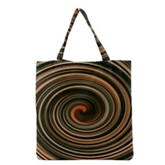 Strudel Spiral Eddy Background Grocery Tote Bag by Nexatart