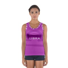 Zodizc Libra Purple Women s Sport Tank Top  by Mariart