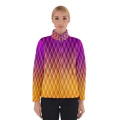 Triangle Plaid Chevron Wave Pink Purple Yellow Rainbow Winterwear by Mariart