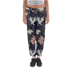 Traditional Music Drum Batik Women s Jogger Sweatpants by Mariart